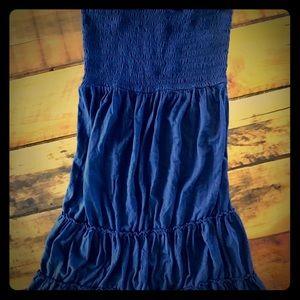 Express Tube Strapless Medium length Dress